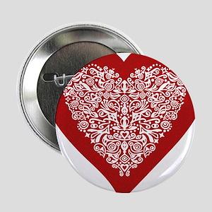 Heart Shaped Buttons - CafePress