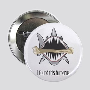 "Funny Shark 2.25"" Button"