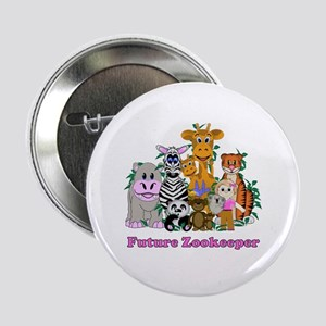 "Future Zookeeper Girl 2.25"" Button"