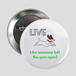 "Live the gates open 2.25"" Button"