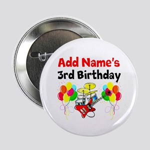 "HAPPY 3RD BIRTHDAY 2.25"" Button"
