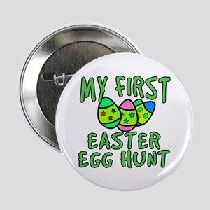 """My 1st Easter Egg Hunt 2.25"""" Button"""