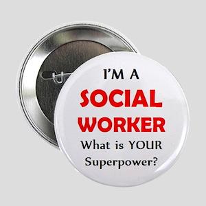 """social worker 2.25"""" Button"""