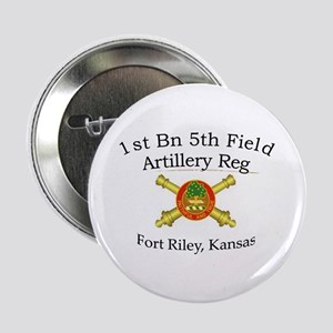 "1st Bn 5th FA 2.25"" Button"