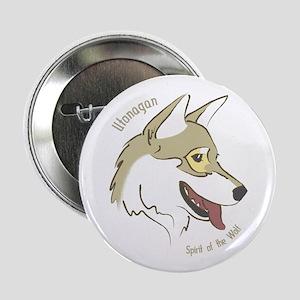 Utonagan 'Spirit of the Wolf' Button