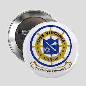 USS Virginia CGN 38 Button