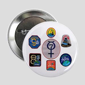 """Mercury Commemorative 2.25"""" Button"""