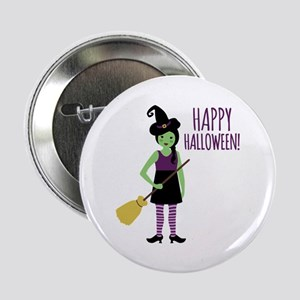 "Happy Halloween! 2.25"" Button"