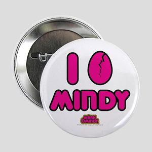 "I Egg Mindy Pink 2.25"" Button"