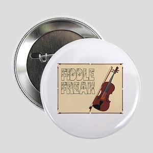 "Fiddle Freak 2.25"" Button"