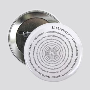 "Pi Spiral 2.25"" Button"