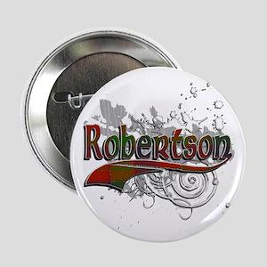 "Robertson Tartan Grunge 2.25"" Button"