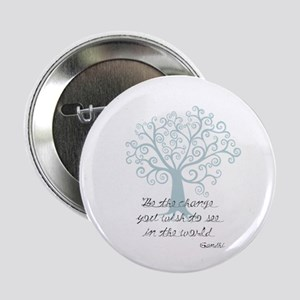 "Be the Change Tree 2.25"" Button"