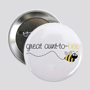 """great aunt to be shirt 2.25"""" Button"""