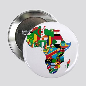 """Flags of Africa 2.25"""" Button"""