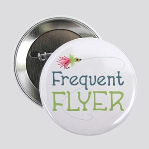"""Frequent Flyer 2.25"""" Button"""
