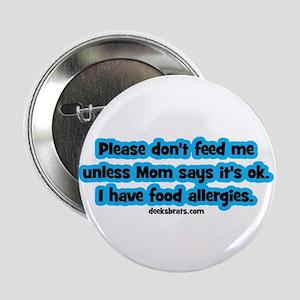 Food Allergy Alert Button