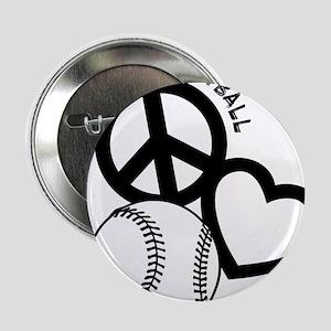 "P,L,Softball, black 2.25"" Button"