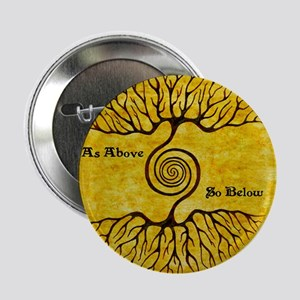 "As Above So Below Color Print 2.25"" Button"