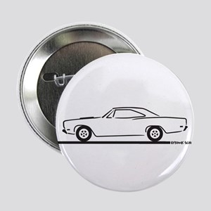 "68 and 69 Roadrunner 2.25"" Button"