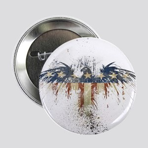 """The Freedom Eagle, Full Color 2.25"""" Button"""