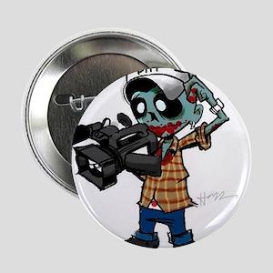 "Zombie Camera Man Pitt 2.25"" Button"