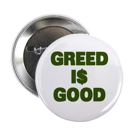 Greed is Good_dark green