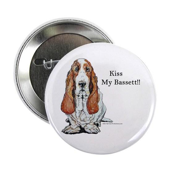 Bassett kiss mine too