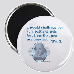 Shakespeare Battle of Wits Magnets