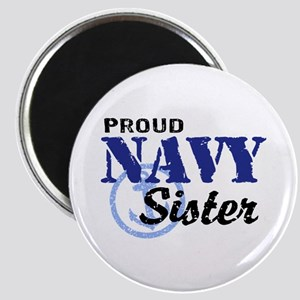 Proud Navy Sister Magnet