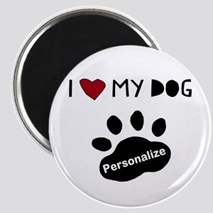 Personalized Dog Magnet