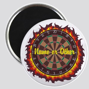Personalized Darts Player Magnets