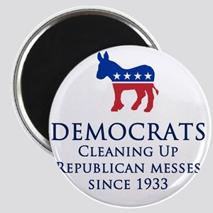 Democrats Cleaning Magnet