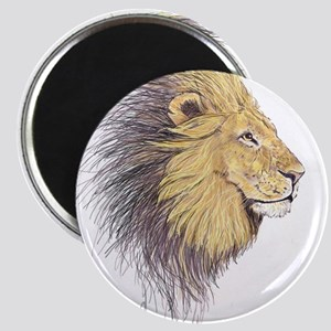Lion Head Magnet