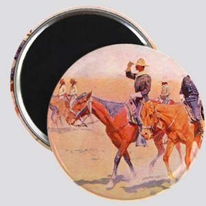 Old West Cavalry Magnet