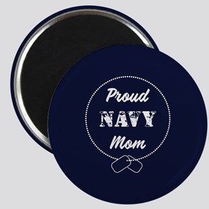 Proud Navy Mom Magnet
