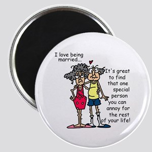 Marriage Humor Magnet