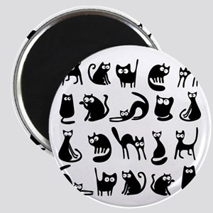 Funny cats Magnet