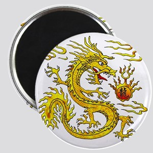 Golden Dragon Magnet