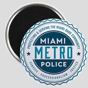 Miami Metro Police Department Magnets - CafePress