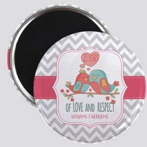 Create Personalized Anniversary Magnet