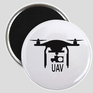UAV Drone Silhouette Magnets