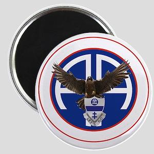 Falcon v1 - 2nd-325th - white Magnet