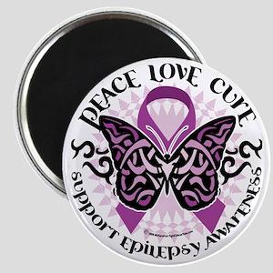 Epilepsy-Butterfly-Tribal-2 Magnet
