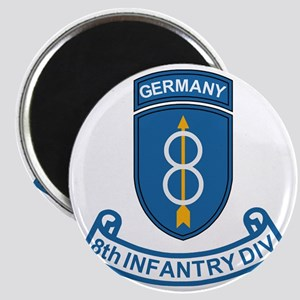 Army-8th-Infantry-Div-6-Bonnie Magnet