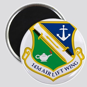 143rd Airlift Wing Magnet