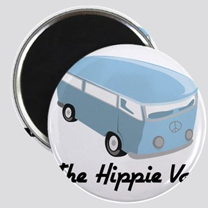 The Hippie Van Magnet