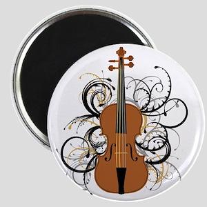 Violin Swirls Magnet