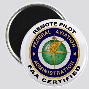 FAA Certified Remote Pilot Magnets