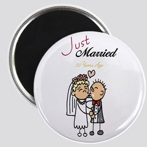 Just Married 50 years ago Magnet